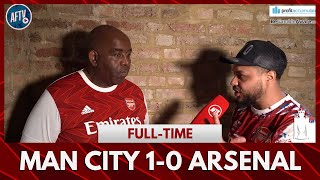 Man City 1-0 Arsenal | Only 8 Minutes To Partey! (Unhappy Troopz)