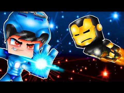 Minecraft: Who's Your Family? - A NOVA CRIAÇÃO DO HOMEM DE FERRO ( Vingadores )