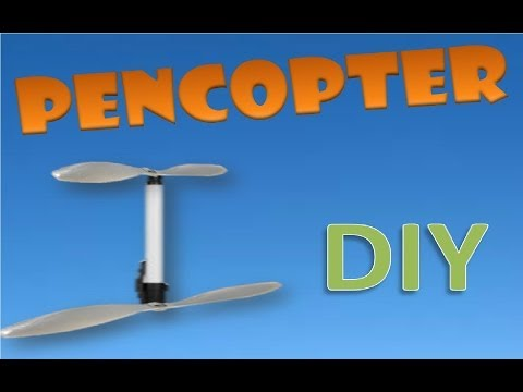 HOW to make a Home made Helicopter tutorial part 1-2. HD