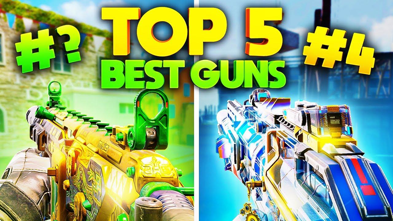 TOP 5 GUNS in SEASON 6 of COD Mobile...
