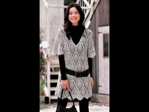 how to crochet tunic free pattern - YouTube