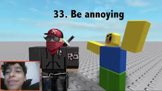 My reaction to watch 50 ways to die in roblox