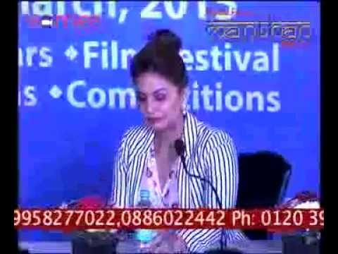 Actress Huma Qureshi rocks the audience at MEDIAFEST24 MANTHAN - 2015