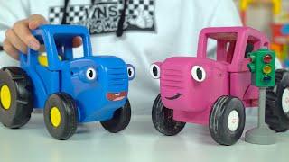 Будильник для Синего трактора - Поиграем в Синий трактор и другие игрушки