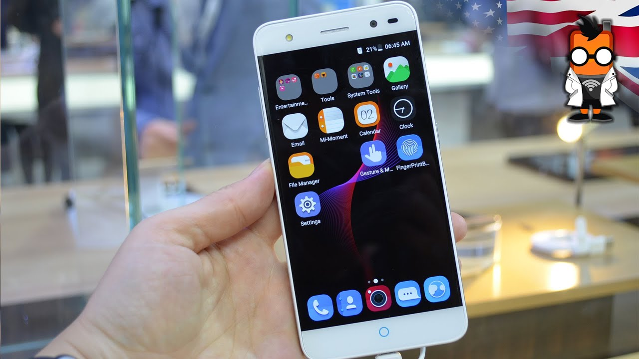 Iphone 5s Vs Zte Blade V7 Lite
