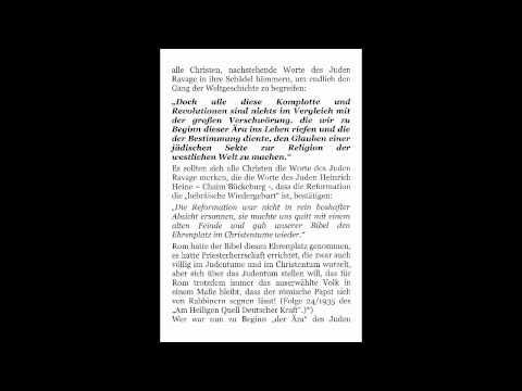 Judengeständnis: Völkerzerstörung durch Christentum; Von Matthias Köpke und Erich Ludendorff,