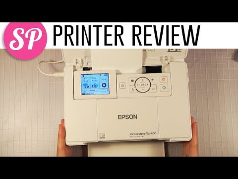 Epson Picturemate PM400 Printer Review | How I Print Photos for Scrapbooking & Project Life