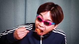 흑미밥과 배추김치 먹는 소리 ASMR 한국인이라면 김치…