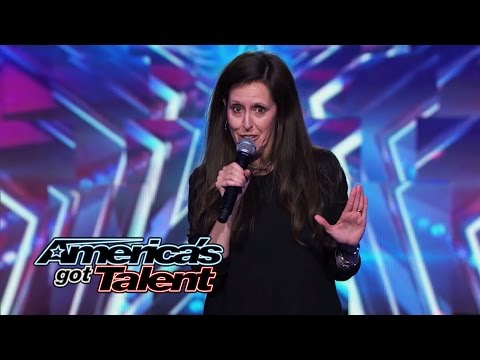 Wendy Liebman: Female Comedian Jokes About Her Marriage - America's Got Talent 2014
