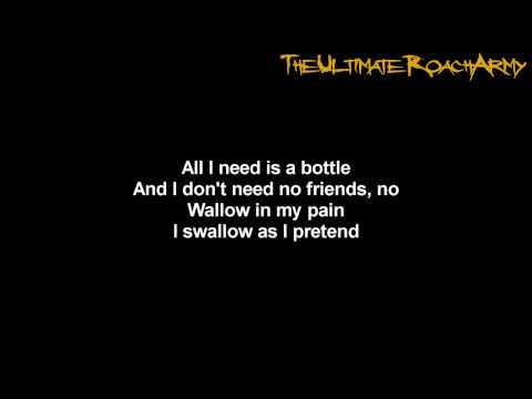 Papa Roach - Binge {Lyrics on screen} HD