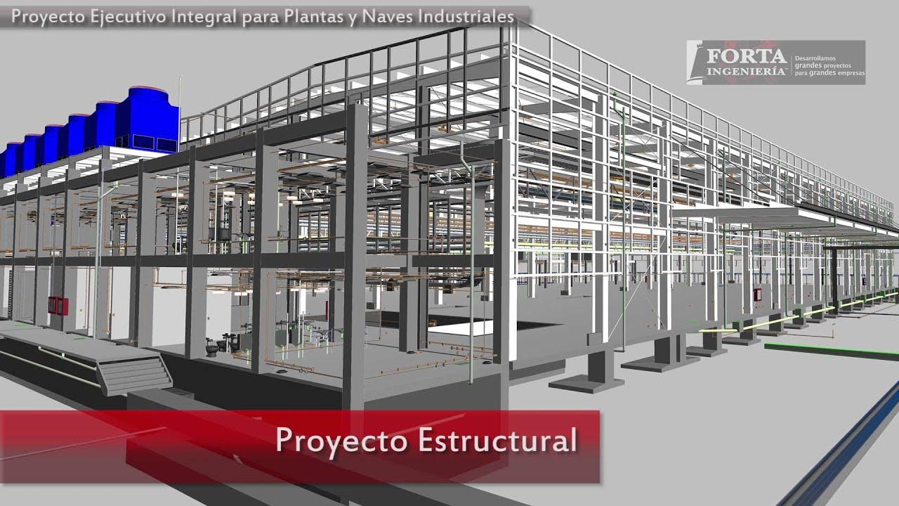 Proyecto ejecutivo integral para plantas y naves for Calefactores para naves industriales