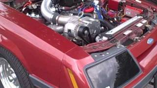 1000 hp mustang first startup