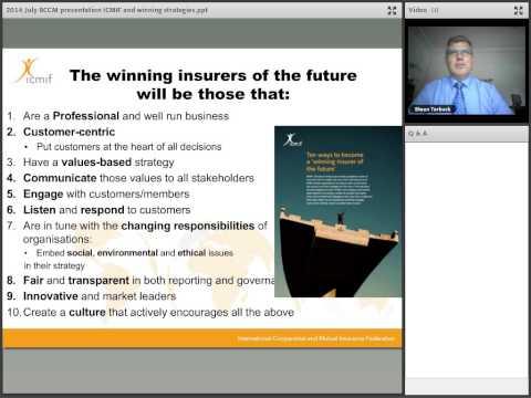 Mutual Insurance around the Globe with Shaun Tarbuck, ICMIF