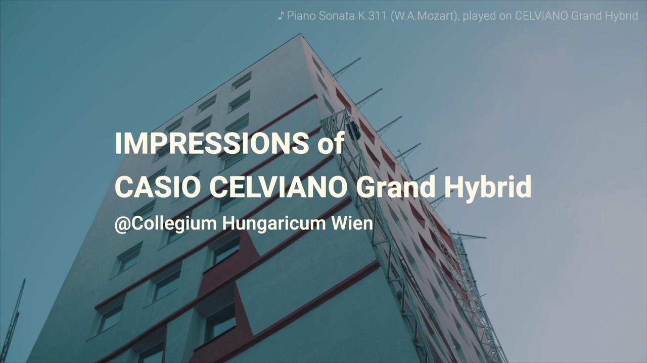 Impressions of CELVIANO Grand Hybrid | CASIO