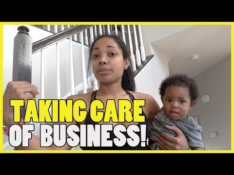 TAKING CARE OF BUSINESS! - YouTube