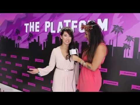 BeautyScene: Youtube Celeb AnneorShine from The Platform Interviews at Beautycon 2013
