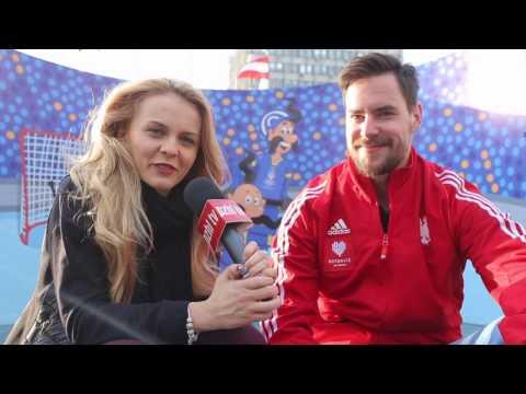 [www.pzhl.tv] W Kijowie z Tomaszem Malasińskim nie tylko o hokeju