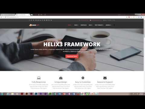 How To Change Menu Links Color In Custom CSS - Joomla Template Development