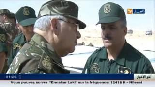 الفريق قايد صالح يتفقد منشآت عسكرية بالناحية العسكرية الرابعة