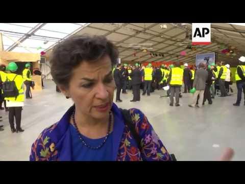 Ministers Arrive For Prelim Paris Climate Talks
