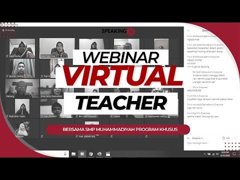 Pelatihan Public Speaking for Virtual Teacher