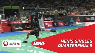 Download Video QF | MS | Anthony Sinisuka GINTING (INA) [7] vs CHEN Long (CHN) [4] | BWF 2019 MP3 3GP MP4