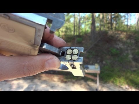 EIG E-16 4-shot derringer review & shoot