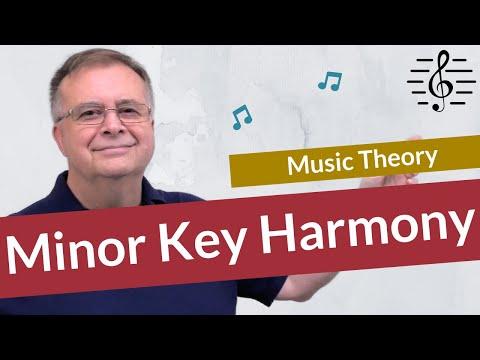 Minor Key Harmony – Music Theory