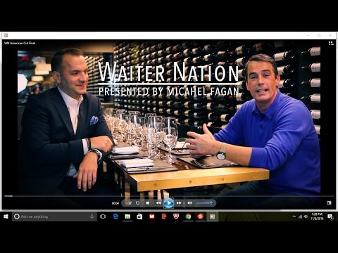 How waiters can on reality TV