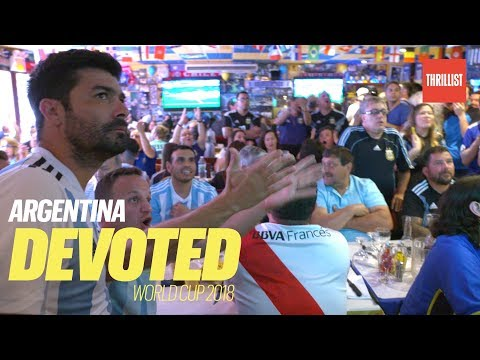 Argentina Soccer Fans Watch The World Cup In Queens  || Devoted