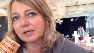 Valérie Leulliot (Autour de Lucie) au micro de Francophonie