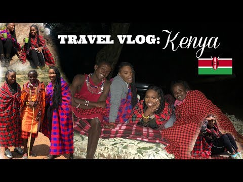 TRAVEL VLOG: FOLLOW ME AROUND KENYA! | MAKEUPMOO