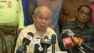 Sidang Media Ahli Parlimen Gua Musang, Tengku Razaleigh Hamzah