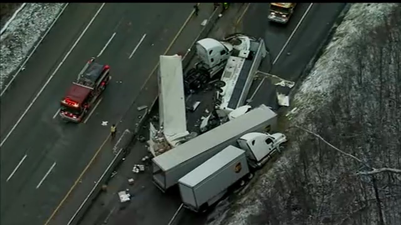 PA Turnpike accident: 5 dead, at least 60 hurt in tour bus crash ...
