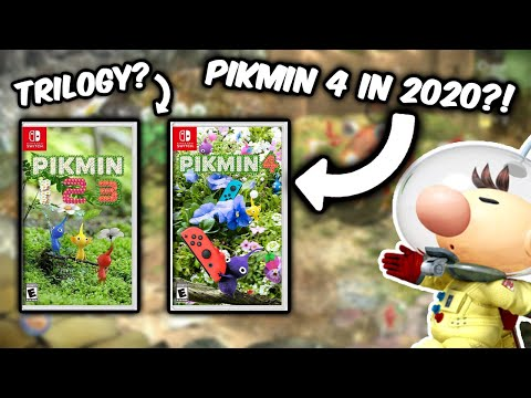 Pikmin 3 Wii U Trailer Hd Youtube