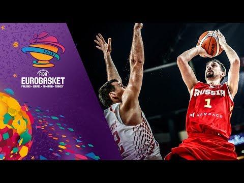 Россия обыграла Хорватию и вышла в четвертьфинал Евробаскета