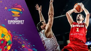 croatia v russia highlights fiba eurobasket 2017
