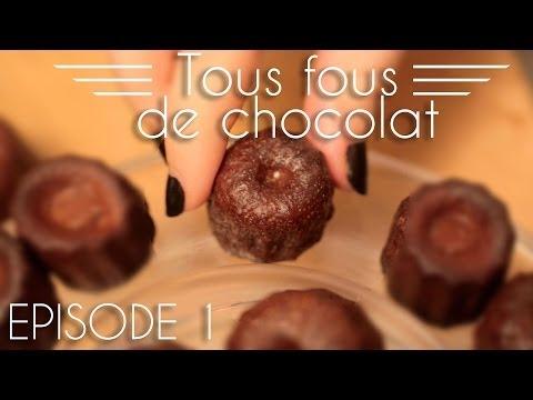 Tous fous de chocolat - Les cannelés au chocolat