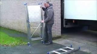 The Lhg Aluminium Portable Diy Ladder Platform