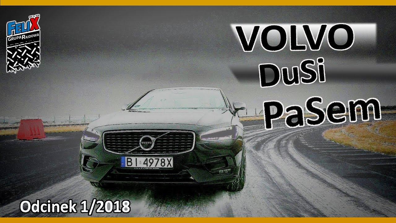 Volvo S90 – Limuzyna na Torze Wyścigowym #Odcinek 1/2018 – Grupa Rajdowy Felix