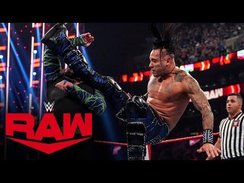 Damian Priest vs. Jeff Hardy – United States Championship Match: Raw, Sept. 13, 2021