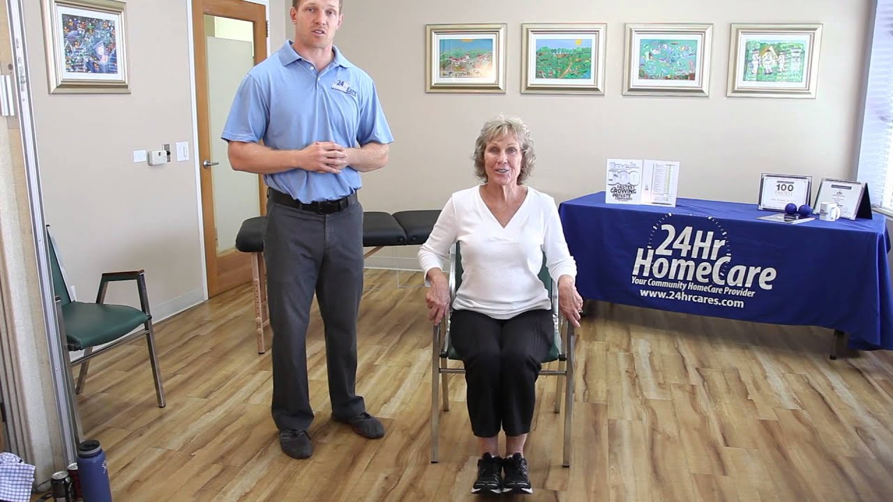 Physical Therapy Exercises for Seniors Chair Exercises for the