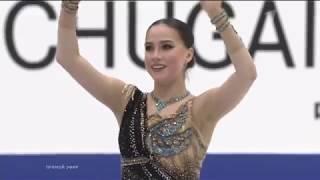 Блестящий прокат Алины Загитовой Произвольная программа Клеопатра Гран при в Японии 23 11 2019