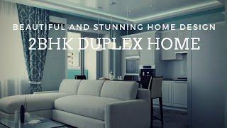 2BHK DUPLEX HOME DESIGN