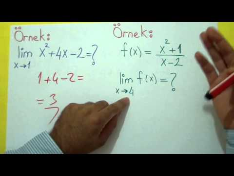 Limit 1 Şenol Hoca Matematik