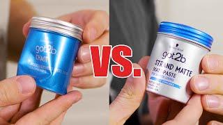 got2b Strandmatte vs got2b Chaot  Review und Meinung  Haarstyling Drogeriemarkt