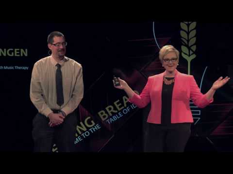 Breaking Barriers with Music Therapy | Emily Wangen | TEDxGrandForks