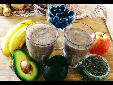 healthy,-energy-boosting,-high-fiber,-breakfast-smoothie-recipe
