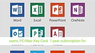 Microsoft Office 365 Home | 1-year subscription, 5 users, PC/Mac Key Card review