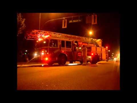 Radio Audio - Vancouver 3rd Alarm Vacant Warehouse Fire